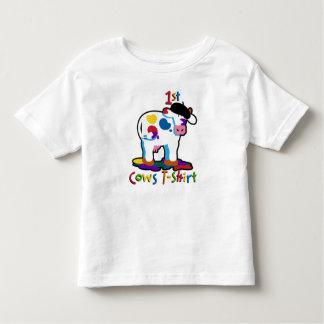 KoolKidZnCo Cute Kidz 1st Cow Toddler T-shirt