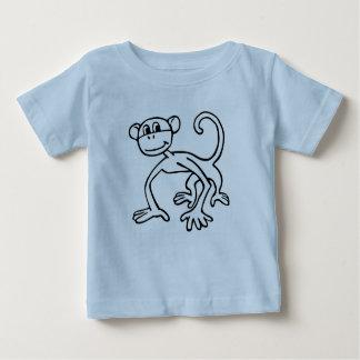 KoolKidZnCo Cute Monkey Infants Baby T-Shirt