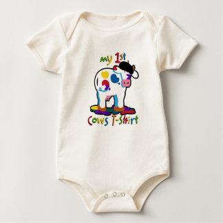 KoolKidZnCo Cute My First Cows T-shirt