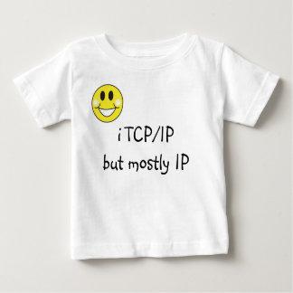 KoolKidZnCo Funny i TCP/IP infant's Baby T-Shirt