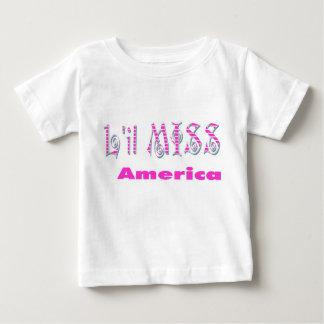 KoolKidZnCo L'il MISS AMERICA Baby T-Shirt