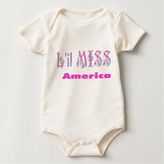 KoolKidZnCo L'il MISS AMERICA  Infants Creeper