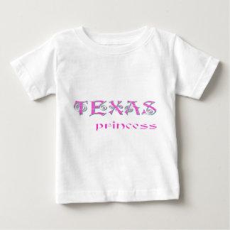 KoolKidZnCoTEXAS PRINCESS Cute Baby T-Shirt
