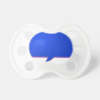 KOOLshades BLUE Talk Bubble - Bulk Discount pricin Baby Pacifier