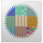 KOOLshades: CHISPA del remiendo de la tela Servilleta Imprimida