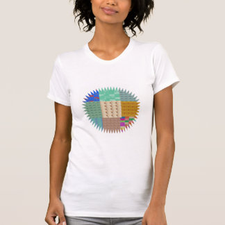 KOOLshades : Fabric Patchwork SPARKLE T-Shirt