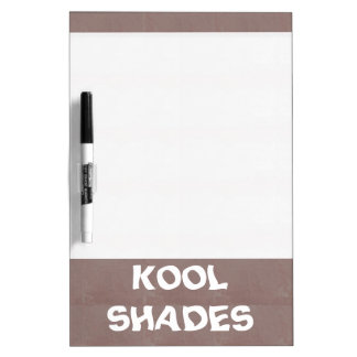 KOOLshades HealingSTONE Brown SHADE diy Dry-Erase Whiteboard