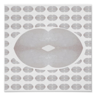 KOOLshades HealingSTONE CRYSTAL LIPS KISS Art Poster