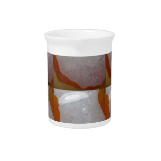 KOOLshades HealingSTONE Crystal Sparkle White Drink Pitchers