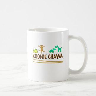 koonie chawa classic white coffee mug