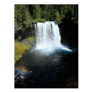 Koosah baja postal de la cascada de Oregon