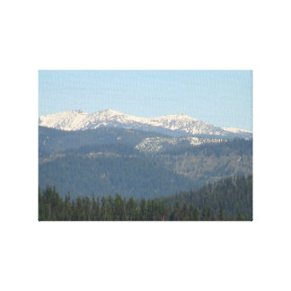 Kooskooskia Idaho Landscape Skyscape Waterscape Canvas Prints