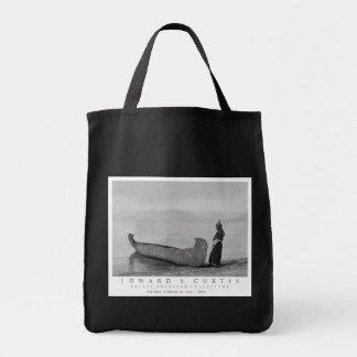 Kootenai Standing By Canoe Tote Bag