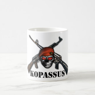 KOPASSUS INDONESIAN SPECIAL FORCE CLASSIC WHITE COFFEE MUG