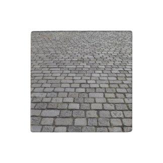 Kopfsteinpflaster Stone Magnet