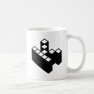 Kopimism Logo Classic White Coffee Mug