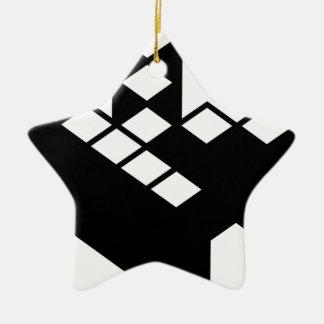 Kopimism Logo Christmas Tree Ornament