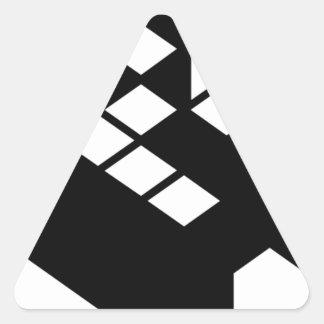 Kopimism Logo Triangle Sticker
