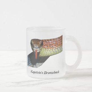 Kopstein's Bronzeback Frosted Glass Mug
