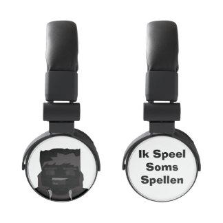 Koptelefoon de IkSpeelSomsSpellen Auriculares