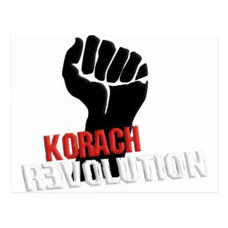 Korach Revolution Postcard