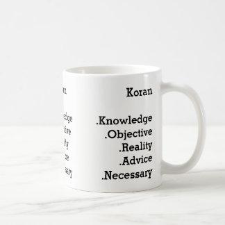 Koran mosquito coffee mug