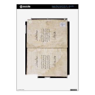Koran printed in Arabic, 1537 (ink on paper) Skins For iPad 3