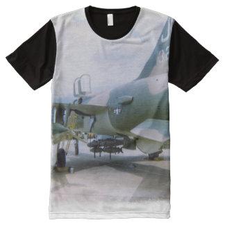 Korat AFB Thailand 1968 F-105 All-Over-Print Shirt