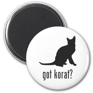 Korat Cat 2 Inch Round Magnet