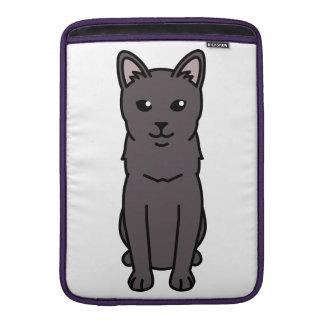 Korat Cat Cartoon MacBook Air Sleeve