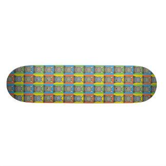Korat Cat Cartoon Pop-Art Custom Skate Board