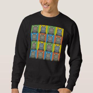 Korat Cat Cartoon Pop-Art Sweatshirt