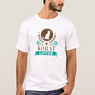 Korat Cat Lover T-Shirt