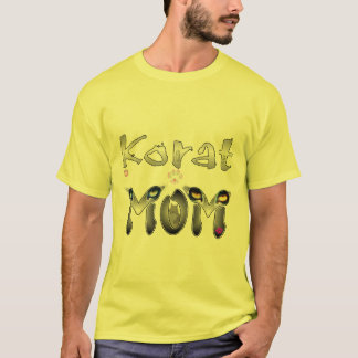 Korat Cat Mom T-Shirt