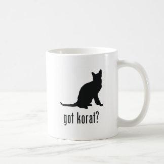 Korat Cat Classic White Coffee Mug