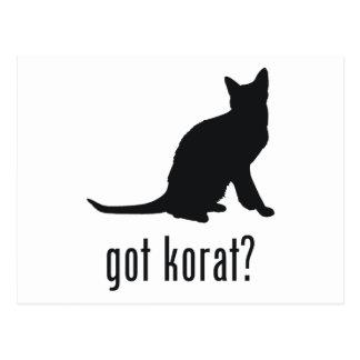 Korat Cat Post Cards
