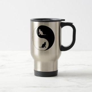 Korat Yin Yang 15 Oz Stainless Steel Travel Mug