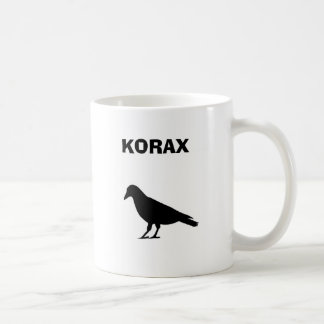 KORAX CLASSIC WHITE COFFEE MUG