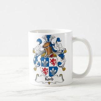 Korb Family Crest Coffee Mug