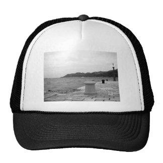 Korcula Seaside in Winter Trucker Hat