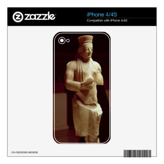 Kore figure of a young female Athenian holding a b iPhone 4S Decal