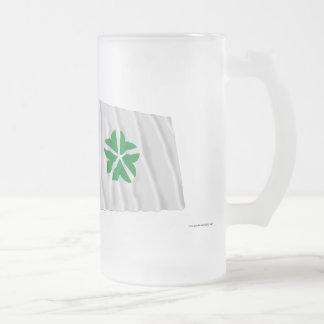 Korea and Daejeon Waving Flags Coffee Mugs