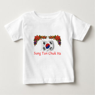 Korea Christmas Baby T-Shirt