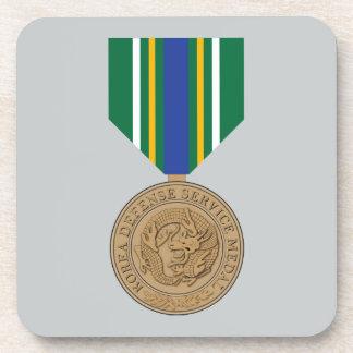 Korea Defense Service Medal Coasters