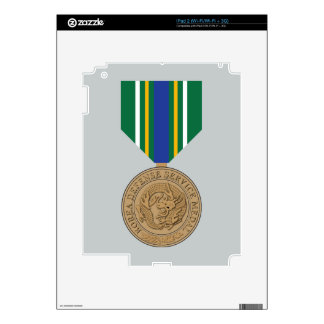 Korea Defense Service Medal iPad 2 Decal
