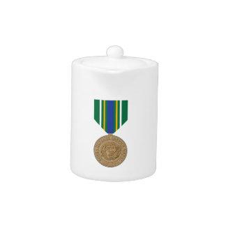 Korea Defense Service Medal Teapot