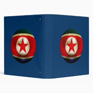 Korea DPR Football Binder