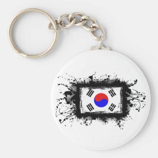 Korea Flag Keychain