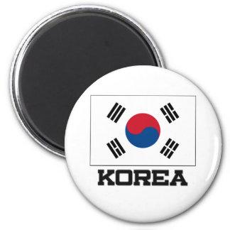 Korea Flag Magnets