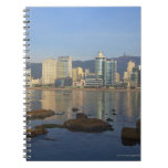 Korea, Gyeongsangnam-do, Busan, Gwangan beach Spiral Notebook